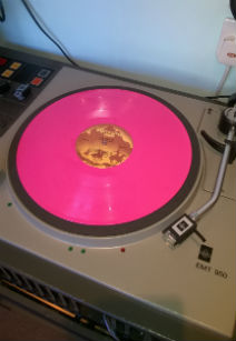 A very pink record!