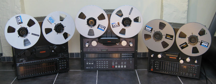 Multi Track Reel To Reel Tape 1 4 Quot 1 2 Quot 1 Quot 2 Quot Audio