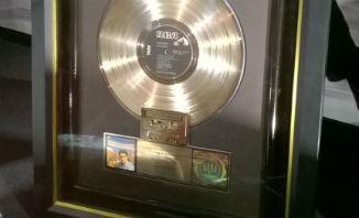 Gold disc plus gold cassette