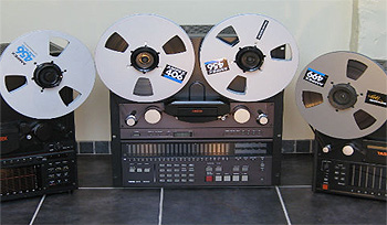 Multi-Track Reel-to-Reel Tape (1/4″, 1/2″, 1″)